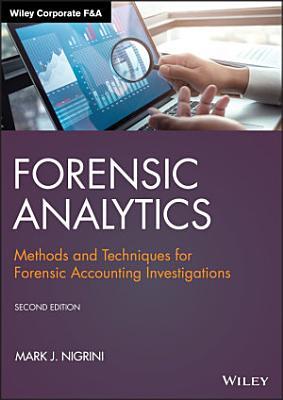 Forensic Analytics PDF
