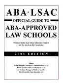 Official Guide to ABA approved Law Schools PDF