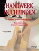 Handwerk Buchbinden PDF