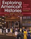 Exploring American Histories  Volume 2 PDF