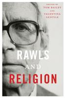 Rawls and Religion PDF