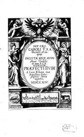 Reipublicae Augstanae Vindelicorum Praefecti ... formis expressi