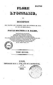 Flore lyonnaise ou description des plantes qui croissent dans les environs de Lyon et sur le Mont Pilat