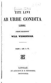 Ab urbe condita libri: Band 1