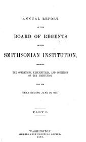 Annual Report of the Board of Regents of the Smithsonian Institution: Volume 1887