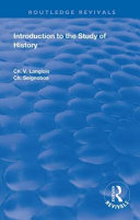 Download Introduction to the Study of History Book