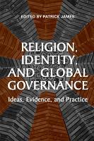 Religion  Identity  and Global Governance PDF