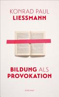 Bildung als Provokation PDF
