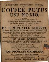 Diss  inaug  med  de coffee potus usu noxio PDF