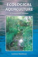 Ecological Aquaculture PDF