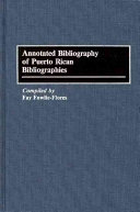 Annotated Bibliography of Puerto Rican Bibliographies PDF