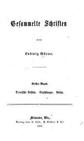 Gesammelte schriften von Ludwig Börne