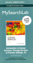 Introduction to Human Services MySearchLab With Pearson Etext Access Code