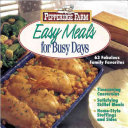 Pepperidge Farm Easy Meals for Busy Days