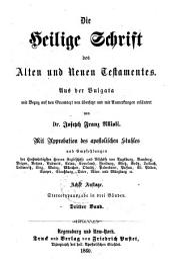 Die Heilige Schrift des Alten und Neuen Testamentes: Band 2
