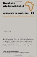 The Changing Forms of Identity Politics in Nigeria Under Economic Adjustment PDF