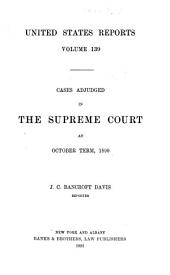 United States Reports: Cases Adjudged in the Supreme Court, Volume 139