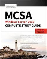 MCSA Windows Server 2016 Complete Study Guide PDF