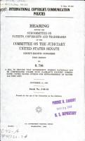 International Copyright communication Policies PDF
