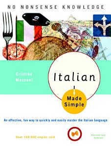 Italian Made Simple Book