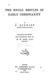 The Social Results of Early Christianity