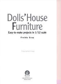 Dolls  House Furniture PDF
