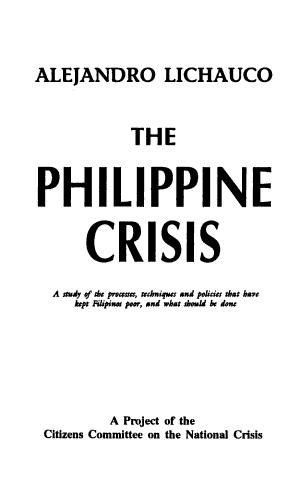 The Philippine Crisis