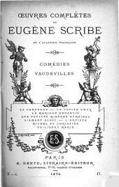 OEuvres complètes de Eugène Scribe ...