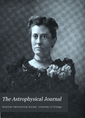 The Astrophysical Journal: Volume 34