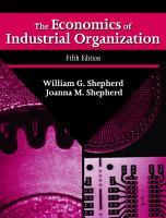 The Economics of Industrial Organization PDF
