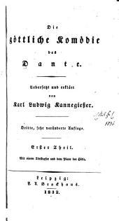 Die Göttliche komödie des Dante: Band 1