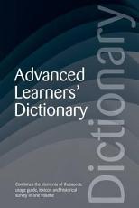 Advanced Learner s Dictionary PDF