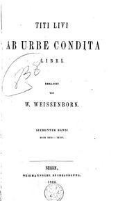 Titi Livi Ab urbe condita libri: Volumes 7-8