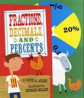 Fractions  Decimals  and Percents PDF