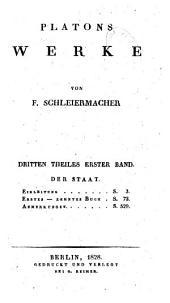 Platons werke: th., 1. bd. Einleitung. Phädros. Lysis. Protagoras. Laches. 1804