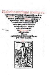 Valerius Maximus noviter recognitus