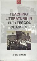 Teaching Literature in ELT ESOL Classes PDF