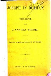Joseph in Dothan: treurspel