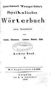 Physikalisches Wörterbuch: S, Band 8