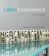 Law and Economics: A Reader