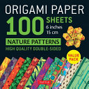 Origami Paper 100 sheets Nature Patterns 6