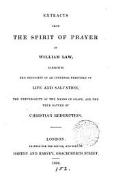 Extracts from The spirit of prayer