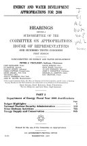 Energy and Water Development Appropriations for 2008: Dept. of Energy FY 2008 budget justifications: budget highlights, NNSA, other defense activities