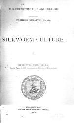 Silkworm Culture Book PDF