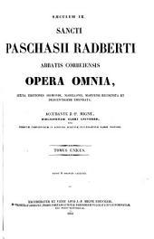 Patrologiae latina cursus completus ... series secunda: Volume 120