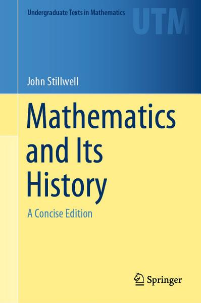 Download Mathematics and Its History Book