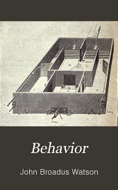 Behavior: An Introduction to Comparative Psychology