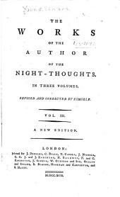 The Works of the Author of the Night-thoughts ...