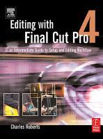 Editing with Final Cut Pro 4 PDF