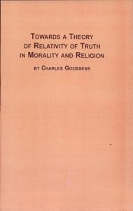 Towards a Theory of Relativity of Truth in Morality and Religion PDF